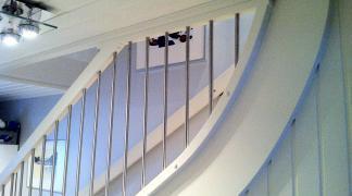 Räcken till trappor - Trappspecialisterna.