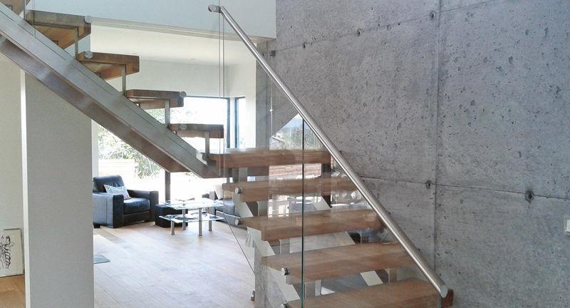 graciös väderbeständig ståltrappa | Trappspecialisterna
