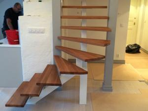 spiral ståltrappa utan räcke | Trappspecialisterna