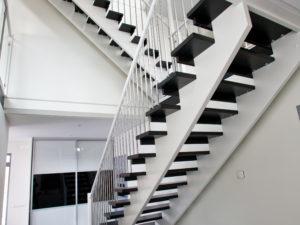 trätrappa för utomhusflykt | Trappspecialisterna