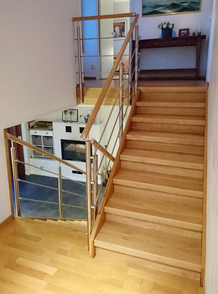 Renovera trappa inomhus - efter | Trappspecialisterna