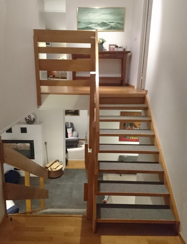 Renovera trappa inomhus - före | Trappspecialisterna