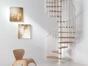 Fontanot Oak spiraltrappa | Trappspecialisterna