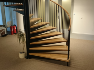 spiraltrappa är det perfekta valet att få mindre utrymme i ditt hem | Trappspecialisterna