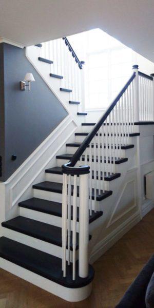 Bygga trappa från det fina kvalitetsträet | Trappspecialisterna