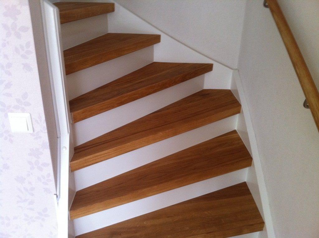 Renovera gammal trappa - efter | Trappspecialisterna