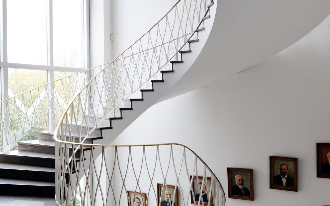 vit spiraltrappa | Trappspecialisterna